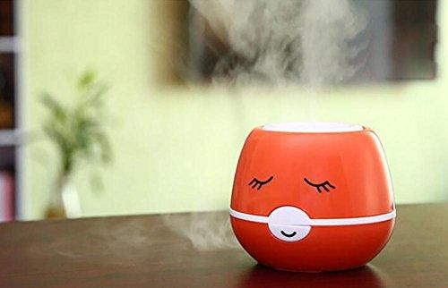SCZLSYL humidificador de humos de dibujos animados usb humidificador de iones negativos , coffee color