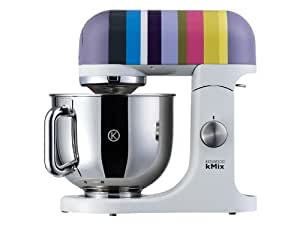 Kenwood Linea kMix KMX80 Kitchen Machine con Ciotola in Acciaio, Multicolore