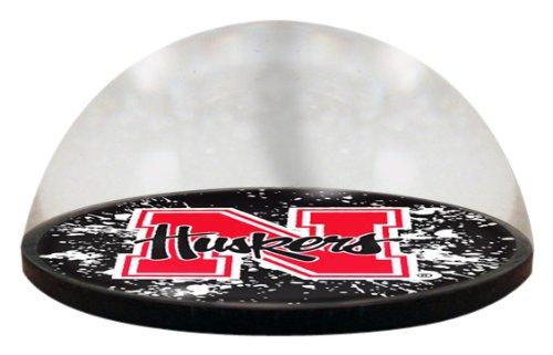 NCAA Nebraska University Cornhuskers Logo in 5 cm großem magnetisiertem Briefbeschwerer mit Farbiger Geschenkbox Nebraska University