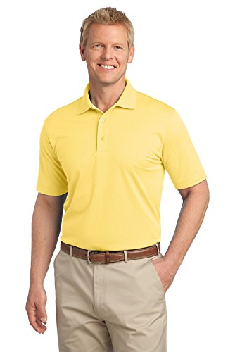 Port Authority® Tech Pique Polo. K527 Splendid Yellow S (Shirt Knit Sleeve Pique)