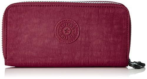 Kipling UZARIO Damen Geldbörsen 10x18.5x3.5 cm (B x H x T), Pink (33G Berry)