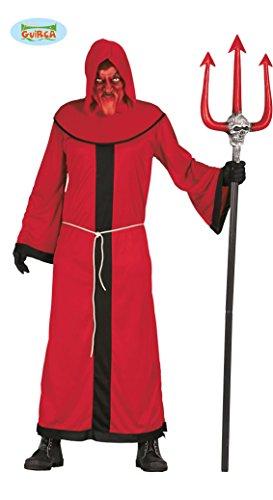 Guirca Costume diavolo demone halloween carnevale uomo adulto 80919