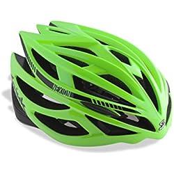 Spiuk Nexion - Casco unisex, color verde / negro, talla 53 - 61