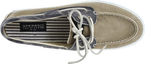 Sperry Top-Sider - Bahama 2- Eye -  Chaussures Bateau à  Lacet - Homme - Multicolore (Navy/Taupe)