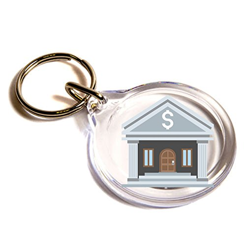 llavero-del-emoji-del-banco-bank-emoji-key-ring