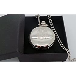 Gemini Star Sign , Zodiac Gifts, Zodiac, Astrology, Horoscopes, Gemini, Pocket Watch, Masons of London, Silver Plated Pocket Watch in Gift Box