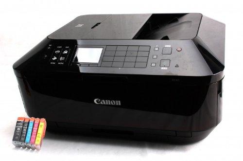 Canon Pixma MX925 Multifunktionsgerät (Drucker, Scanner, Kopierer, Fax, WLAN) mit 25 kompatiblen SilverTrade Patronen + USB Kabel (Originalpatronen nicht im Lieferumfang)
