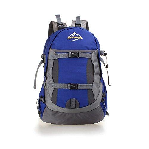 Wewod Beiläufige Art und Weise Der Großen Kapazität Berg Taschen Praktischen Rucksack marineblau