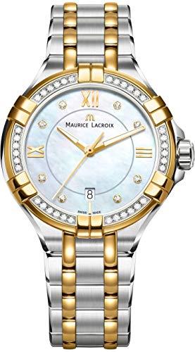 Maurice Lacroix AIKON AI1004-DY503-171-1 Montre Bracelet pour femmes Avec 42 Diamants