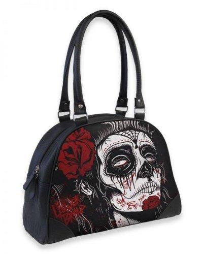 Liquor Brand - Damen Rockabilly Bowling Handtasche Dead Girl