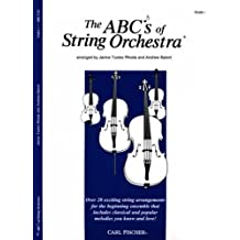 The ABCs of String Orchestra - Violin I part by Rhoda, Janice Tucker (2000) Paperback