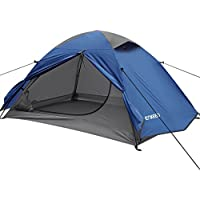 ENKEEO Camping Tent with Mesh Inner Tent and Waterproof Outer Layer for 2 Persons
