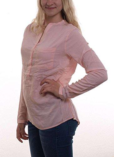 Madonna Damen Langarmshirt MYAH, Einfarbig Rosa (rosé 0709)