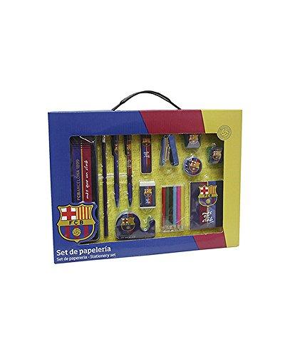 Set papeleria en caja FC Barcelona
