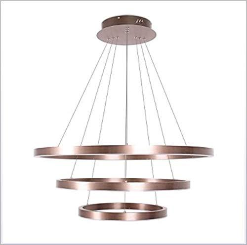 Yaohm 3-light circolare/originale lampadari faretto spazzolato alluminio regolabili, nuovo design, fantastico 110-120v / 220-240v,110~120v