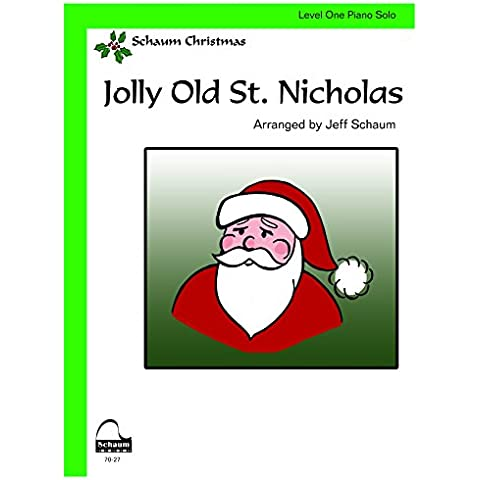 Jolly Old St. Nicholas: Sheet
