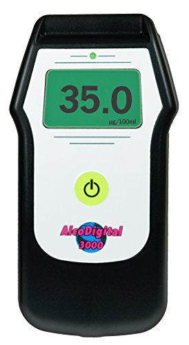 AlcoDigital 3000 Breathalyzer & Alcohol Tester -