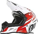 SHOT 2017 Uomo Motocross / Casco MTB - Stricker Exod - Rosso - rosso, L (59-60 cm)