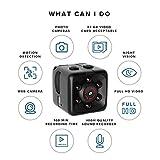 GreatFun Hidden Camera - Mini Camera 1080P - Hidden Babysitter Cam - Hidden Spy Cam - Hidden Cam - Überwachungskamera Ultra Clear Motion Camera