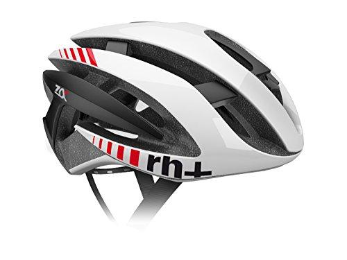 R/H Z Alpha Fahrradhelm, Unisex für Erwachsene, Unisex - Erwachsene, Z Alpha, Bianco Lucido/Nero Satinato