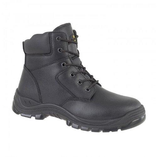 Chaussures montantes de sécurité Amblers Steel FS84 pour femme Noir