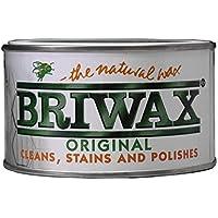 BRIWAX BW0502540121 Original Walnut - Cera para madera (400 g), color pino