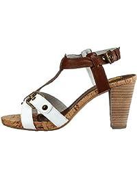 Mexx Sandaletten JANE Leder White Tan