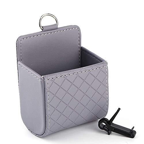 HYCy Auto Universal Aufbewahrungstasche Tasche Telefon Mod Sun Glass Box Halter Pocket Organizer Grau Mod-telefon