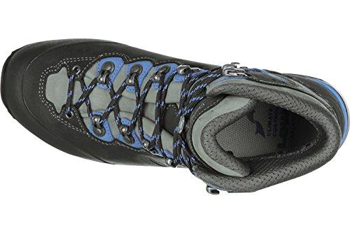 Lowa Camino Gtx, Bottes de Randonnée Homme Gris (Schwarz/blau)
