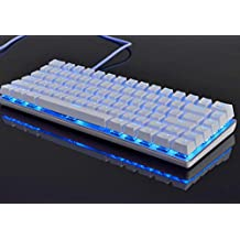 لوحة مفاتيح ميكانيكية للالعاب غيك AK33 يتم توصيلها سلكياً بمنفذ يو اس بي للاب توب والكمبيوتر من اجاز