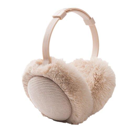 Pormow Damen und Herren Verstellbarer Warm Halten Winter-Ohrenschützer Outdoor-Wärme
