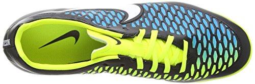 Nike Magista Onda Turf, Chaussures de Football Entrainement Homme Noir (black/white/blue Lagoon/volt)