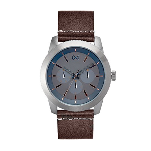 Mark Maddox Men's Analogue Quartz Watch with Leather Strap HC0101-57