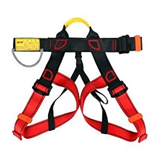 Climbing harness, ELSLEY Safe Safety Belts F ¨, R Mountain Climbing Outward Band Fire Rescue work on higher level Caving Roping Equip Women Man Child HALBK? Rperf ¨ ¹ of Harness