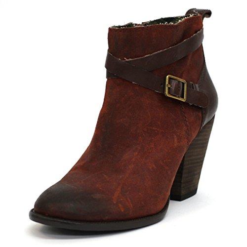 Lucky Brand Kniehohe Stiefel UK Größe 3,5 Braun