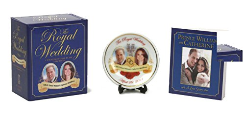 Royal Wedding Commemorative Plate And Book