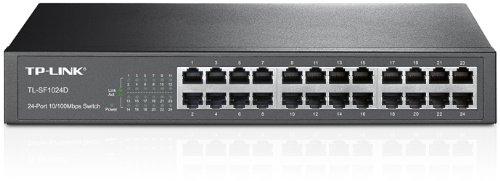 TP-Link TL-SF1024D - Conmutador Fast Ethernet 24 Puertos
