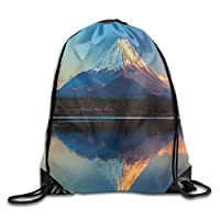 HouyunCC Drawstring Backpack Gym Bag Travel Backpack, Floral Pattern, Mens Bag for Teen Kids