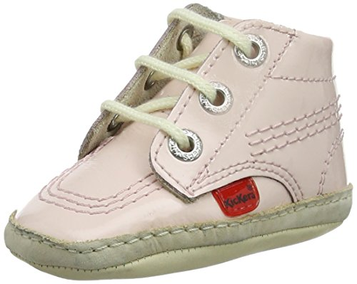 Kickers Unisex Baby 1st Kicks Stiefel, Pink (Light Pink), 18 EU