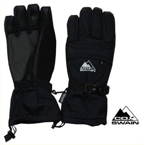COX SWAIN Herren Handschuh Storm Fingerhandschuh - Thinsulate & Youngtec - Kälte ist kein Problem, Size: M (8,5-9)