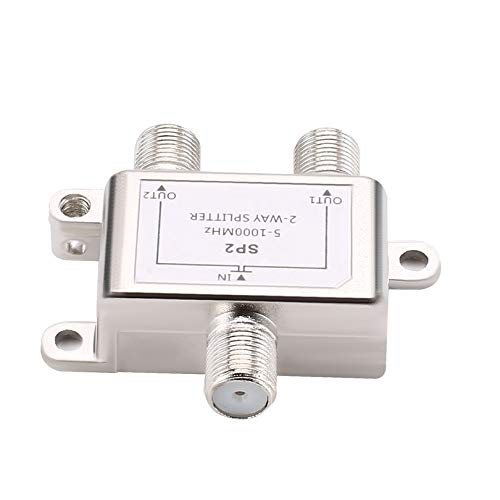 2 Way Cable Splitter Satellite Multiswich CATV Signal Mixer Digital Satellite Combiners Diplexers VHF UHF Video-signal Combiner