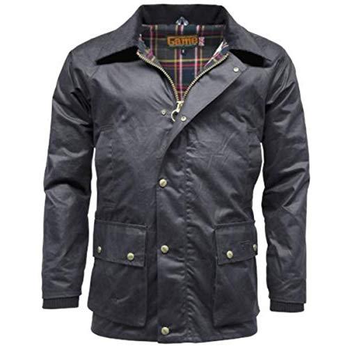 Game Barker - chaqueta con capucha desmontable para hombre azul azul marino X-Large