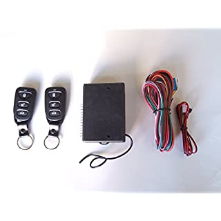 Universal Funkfernbedienung Zentralverriegelung Upgrade Kit schlüsselloses Zugangssystem, 2 Fernbedienungen Harts