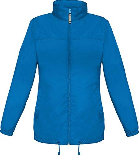 B & C Damen kaltem Wetter winterwear Warm Coat Sirocco Frauen Full Zip Jacket Blau - Königsblau