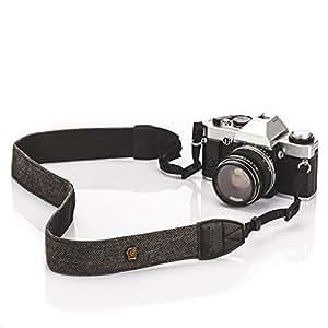 TARION Camera Strap tracolla della fotocamera per Canon Nikon Pentax Sony Nera