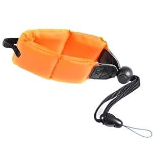 Cowboystudio Flotteur en mousse pour appareil photo étanche Orange