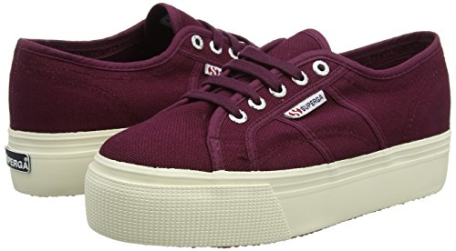 Violett 39.5 EU Superga 2790Acotw Linea Up and Down Sneaker Donna j74
