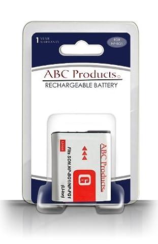 ABC Products® Remplacement Sony NP-BG1 / NP-FG1 / G Type Li-ion Batterie / Pile Pour Cybershot / Cyber-Shot Appareil Photo Numérique / Handycam Camescope (modèles indiqués ci-dessous)