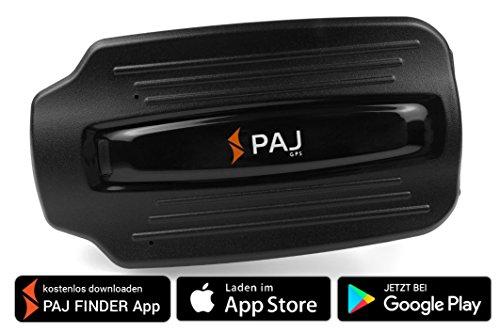POWER Finder von PAJ - GPS-Tracker Peilsender für Fahrzeuge Auto KFZ LKW Boote und mit 60 Tagen Akkulaufzeit +++ NEU: Gratis Konfigurations SMS - App für iOS & Android