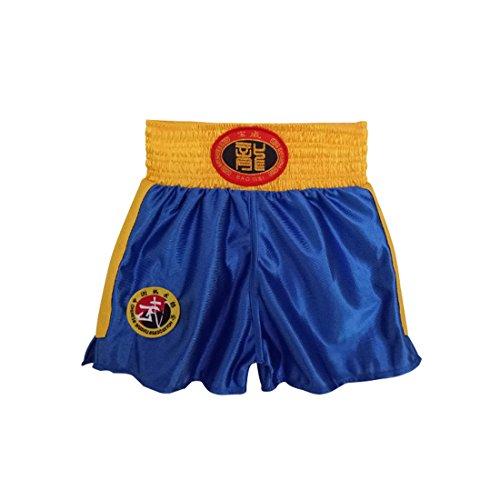 Yefree Kind Kampfsportbekleidung Trainingsanzug Sanda Kleidung Erwachsener Boxanzug Boxershorts Muay Thai Kleidung Junge und Mädchen Kungfu Kleidung Kostüm